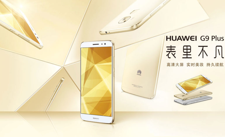 Huawei G9 Plus Tanıtıldı