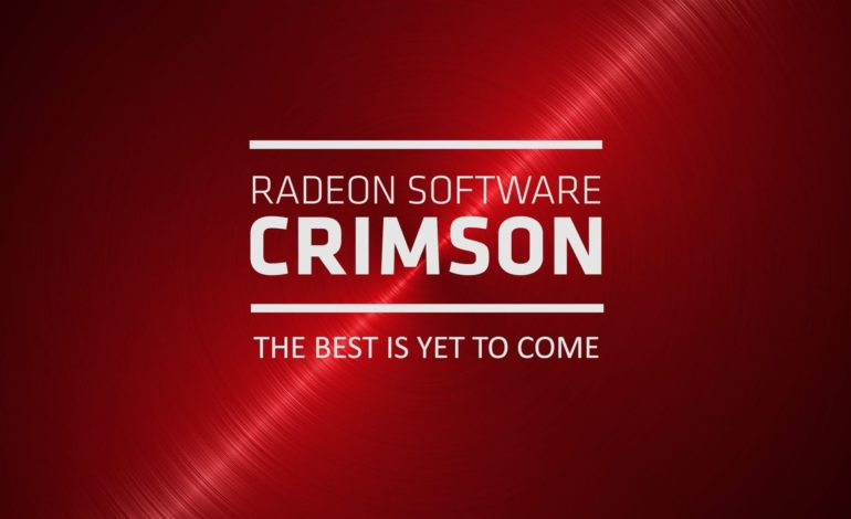 AMD Radeon Crimson Edition 16.8.1 Sürücüleri Yayınlandı