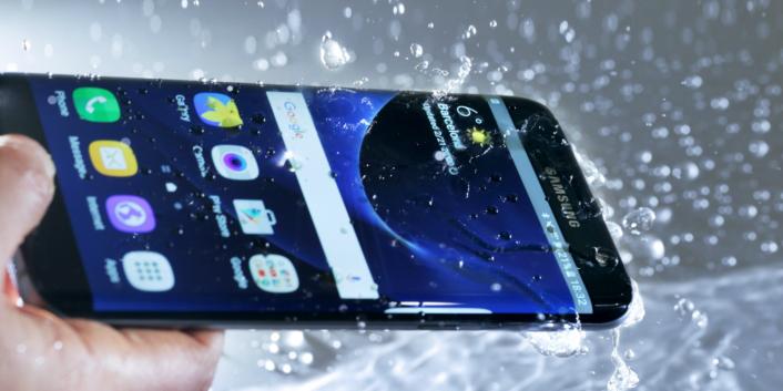 Samsung Galaxy Note 7 Su Altında Kullanıldı