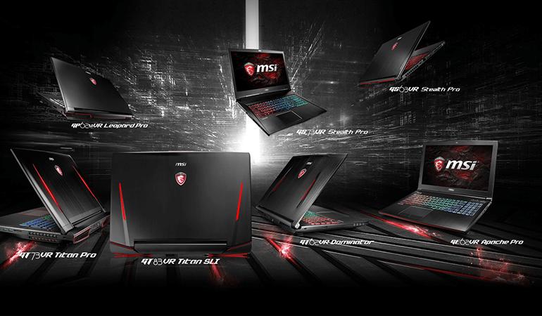MSI'ın Oyuncu Notebook'ları GTX1000 Serisiyle Yenileniyor