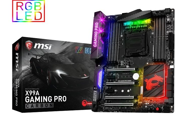 MSI X99A Gaming Pro Carbon İncelemesi