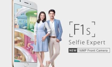 Oppo F1s, 16 MP Selfie Kamerasıyla Geliyor