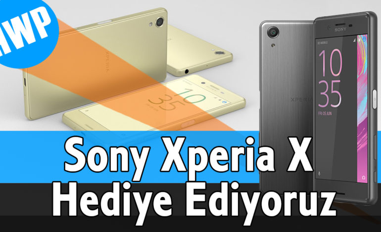 Sony Cep Telefonu Hediye Ediyoruz