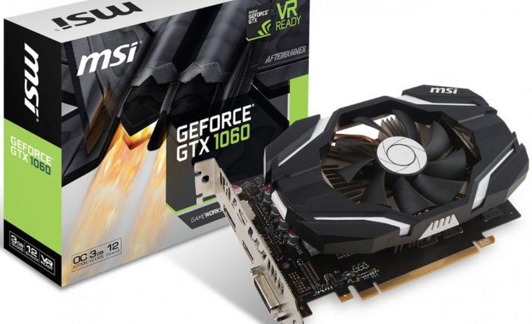 MSI GeForce GTX 1060 3GB Mini Ekran Kartı Duyuruldu