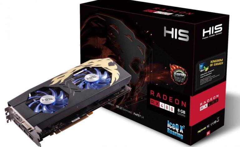 HIS Radeon RX 480 IceQX2 Ekran Kartı Duyuruldu
