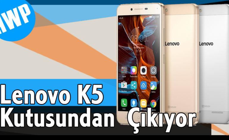 Lenovo K5 Kutu Açılışı, Fiyat ve Teknik Özellikler