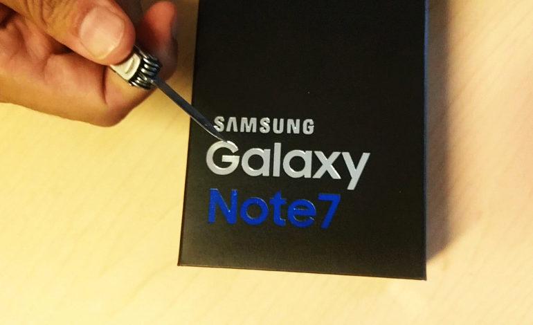 Samsung Galaxy Note7 Kutu Açılışı ve Teknik Özellikleri