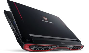 Acer, IFA Fuarında Kavisli Ekrana Sahip Oyuncu Notebook'larını Tanıttı