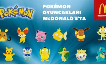 Pokemon Çılgınlığı McDonald's'larda!