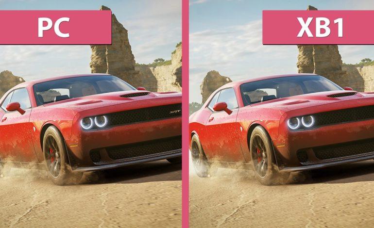 Forza Horizon 3'ün Grafik Karşılaştırma Videosu