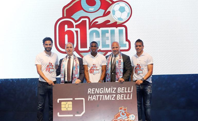 Trabzonsporlulara Özel Hat: 61Cell