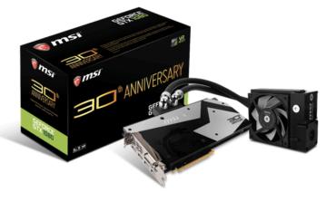 MSI, GeForce GTX 1080 Anniversary Limited Edition Ekran Kartını Duyurdu