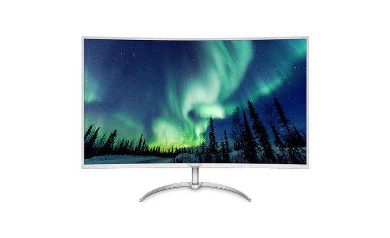 Philips, Kavisli Ekrana Sahip Ultra HD Monitörünü Duyurdu