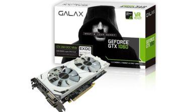 GALAX GeForce GTX 1060 6GB EXOC White Edition Ekran Kartını Duyurdu