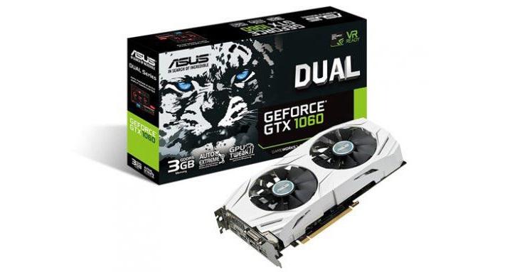 ASUS, Çift Fanlı GeForce GTX 1060 Ekran Kartını Duyurdu
