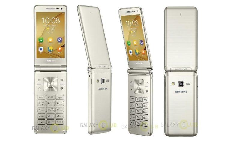 Samsung Galaxy Folder 2'in Yeni Görseli Sızdırıldı