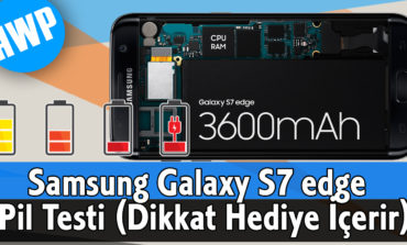 Samsung Galaxy S7 edge Pil Testi