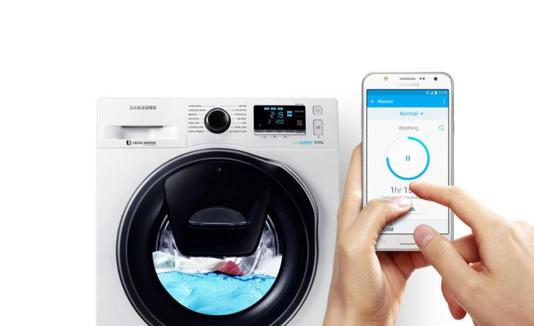 Samsung'un Akıllı Çamaşır Makinesi Türkiye'de!