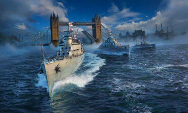 Kraliyet Donanması World of Warships Limanlarına Yanaştı