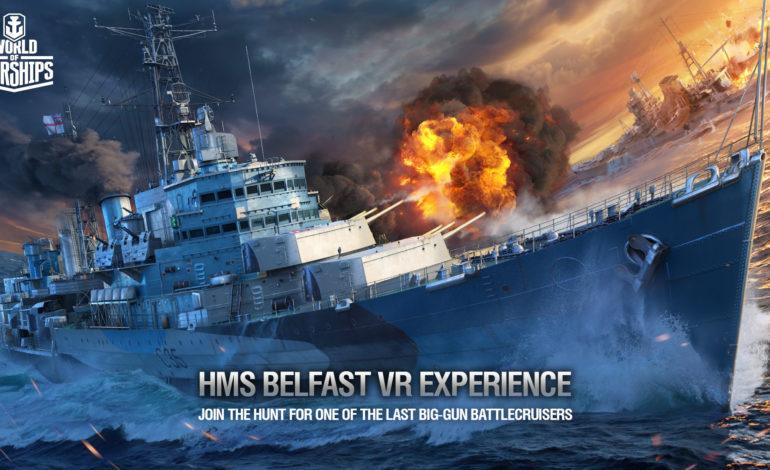 World of Warships'in İlk Sanal Gerçeklik Videosu