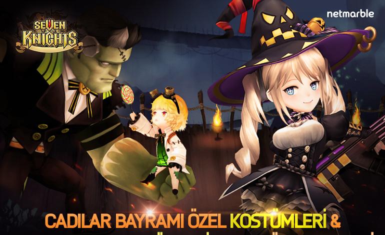 Seven Knights'ta Cadılar Bayramı'na Özel Güncelleme