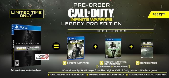 Call of Duty: Infinite Warfare Legacy Edition 130GB Boş Alan İstiyor!