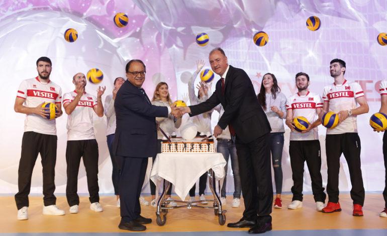 Vestel, Türk Voleyboluna Ana Sponsor Oldu