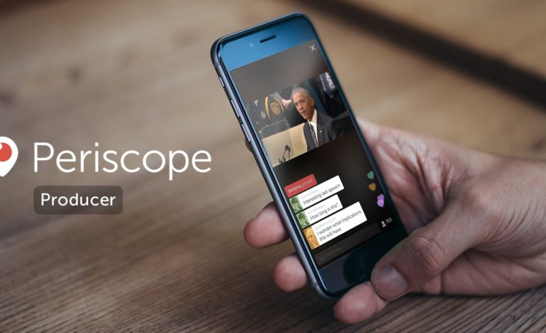 Twitter Periscope Producer ile Daha Kaliteli Videolar