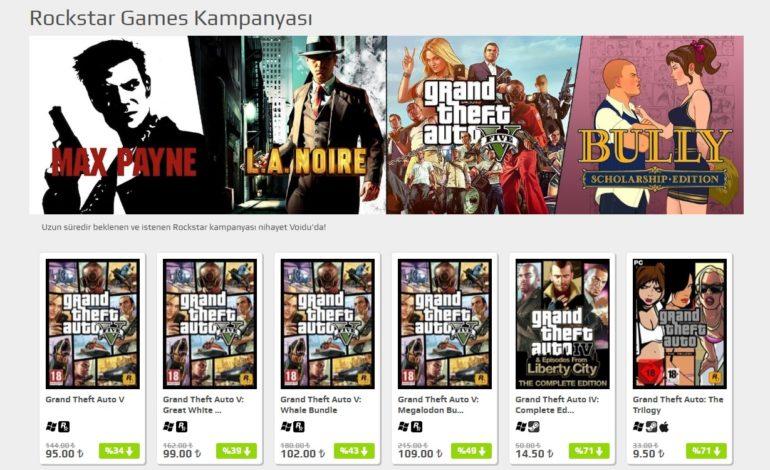Voidu'da Rockstar Games Kampanyası