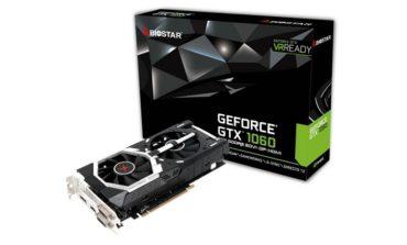 Biostar, GeForce GTX 1060 Dual Fan Ekran Kartını Duyurdu