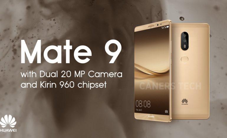 Huawei Mate 9 Sızdırıldı