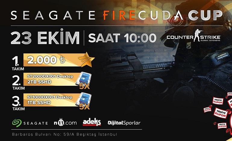 Seagate Firecuda Cup Başlıyor!
