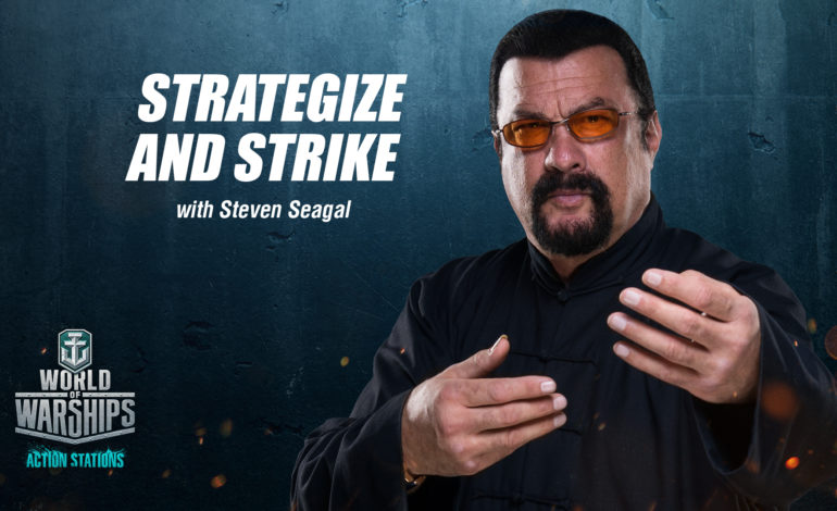 Steven Seagal, World of Warships'te!