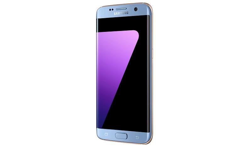 Samsung Galaxy S7 Edge Mavi Mercan Rengiyle Türkiye'de
