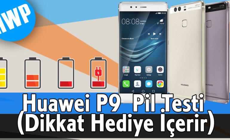 Huawei P9 Pil Testi