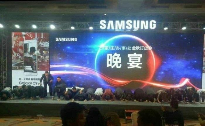 Samsung Yöneticileri, Note 7 İçin Diz Çökerek Özür Diledi
