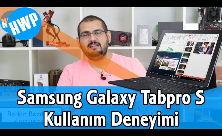Samsung Galaxy Tabpro S Kullanıcı Deneyimi (Haftalar Sonra)