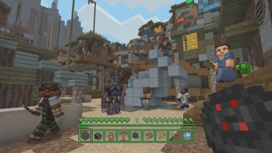 Minecraft'ın Fallout Temalı Ek Paketi