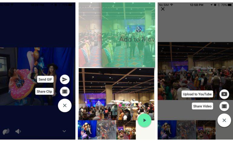 Google Motion Stills Yeni Özellikler Getirdi
