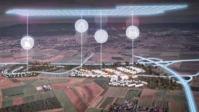 Almanya'da Deneysel Bir Gelecek Köyü Kuruluyor