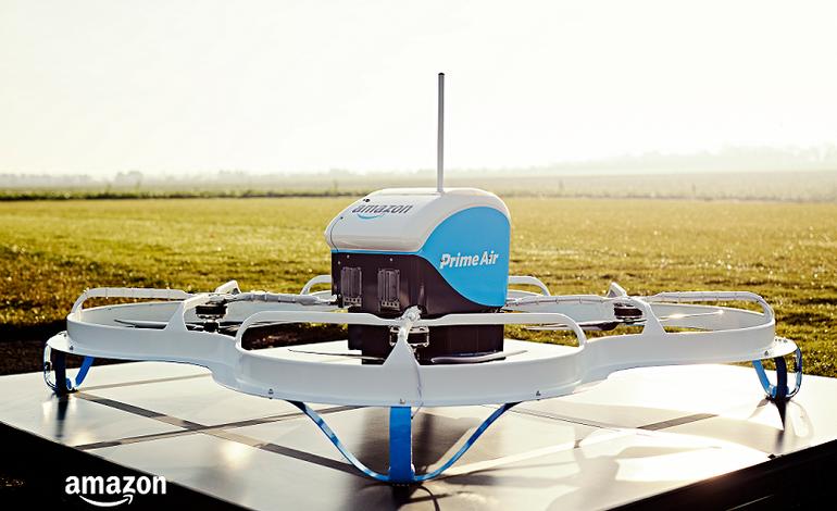 Amazon, Drone ile İlk Teslimatını Sonunda Gerçekleştirdi