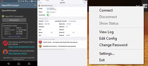 openvpn open vpn sh script betik kurulum install android ios windows pc connect