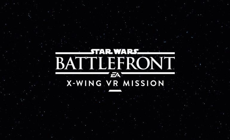 Battlefront'un Ek Paketi X-Wing VR Görevi Haftaya Başlıyor