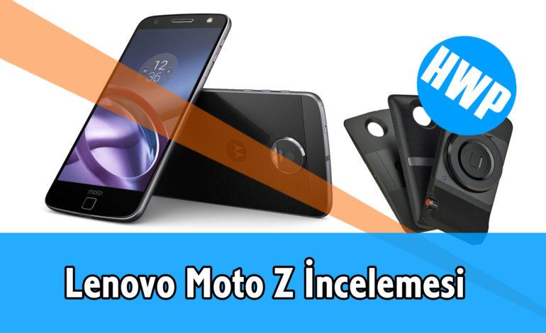 Lenovo Moto Z İncelemesi, Fiyat ve Teknik Özellikler