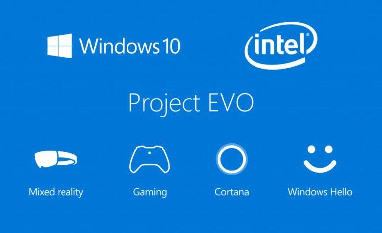 Microsoft ve Intel, Project Evo ile Bilgisayara Yeni Anlam Katacak