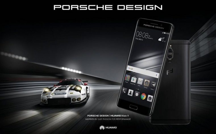 Porsche Design, Huawei'nin Mate 9 Modelini Yeniden Yarattı