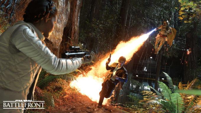 Star Wars : Battlefront 2 tekli oyuncu