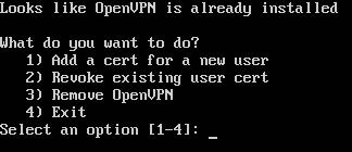 openvpn open vpn sh script betik kurulum install yeni kullanıcı new user add ekle