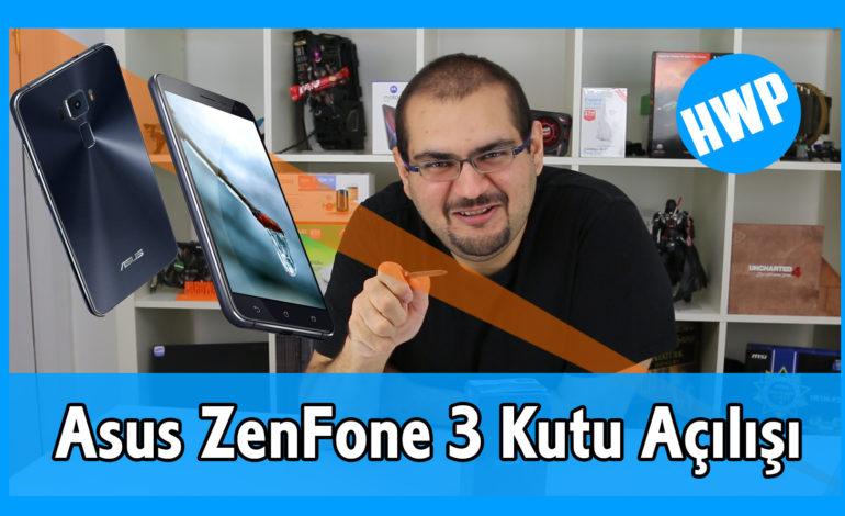 Asus ZenFone 3 (ZE552KL) Kutu Açılışı ve Teknik Özellikleri