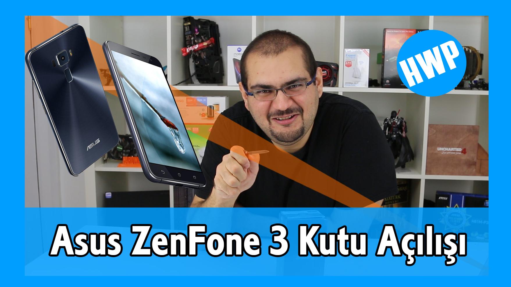 asus zenfone 3 ze552kl teknik özellikler kutu açılışı